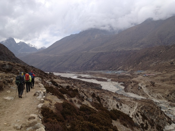 A cool, cloudy trek to Pheriche.